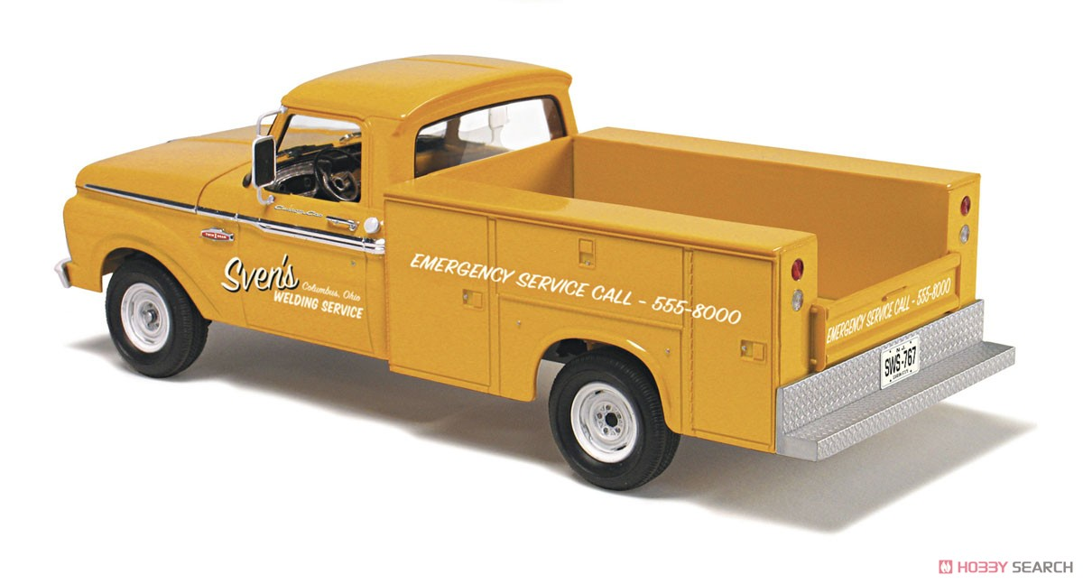 1965 Ford F 100 Service Truck Model Car Item Picture2