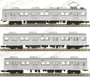 The Railway Collection Nagano Electric Railway Series 8500 (T4 Formation) (3-Car Set) (Model Train)