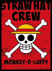 Character Sleeve One Piece Jolly Roger Monkey D Luffy