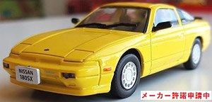 ニッサン 180SX 1989 イエロー/ブラック (ミニカー)