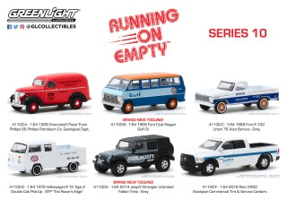 1976 Ford f-100 Gulf oil *** Greenlight Running on Empty 1:64 Nouveau