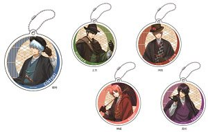 Gin Tama Acrylic Key Ring (Set of 5) (Anime Toy)