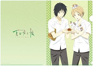 Natsume`s Book of Friends the Movie: Tied to the Temporal World Natsume & Tanuma A4 Clear File (Anime Toy)