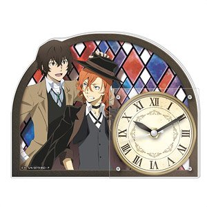 Bungo Stray Dogs Acrylic Clock (Anime Toy)