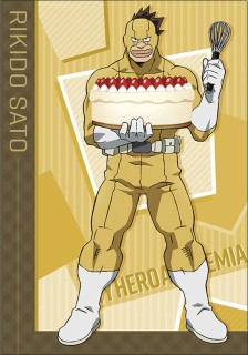 My Hero Academia Clear File Sato Battle Cake Anime Toy