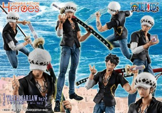 Variable Action Heroes MegaHouse ONE PIECE figure Trafalgar Law ver2