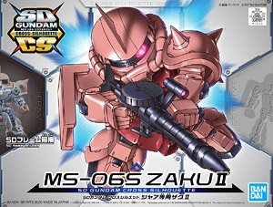 SD Gundam Cross Silhouette MS-06S ZAKU II (SD) (Gundam Model Kits)