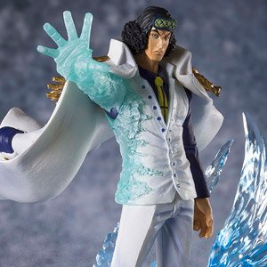 Figuarts Zero [Extra Battle] `The Three Admirals` Kuzan -Aokiji- (PVC Figure)