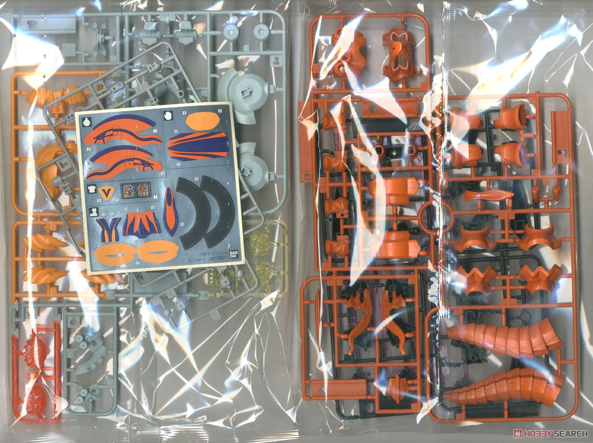 LBX Ifrit (Plastic model) Contents1