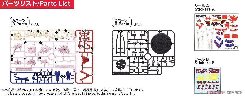 Petitrits Saber/Miyamoto Musashi (Plastic model) Assembly guide5