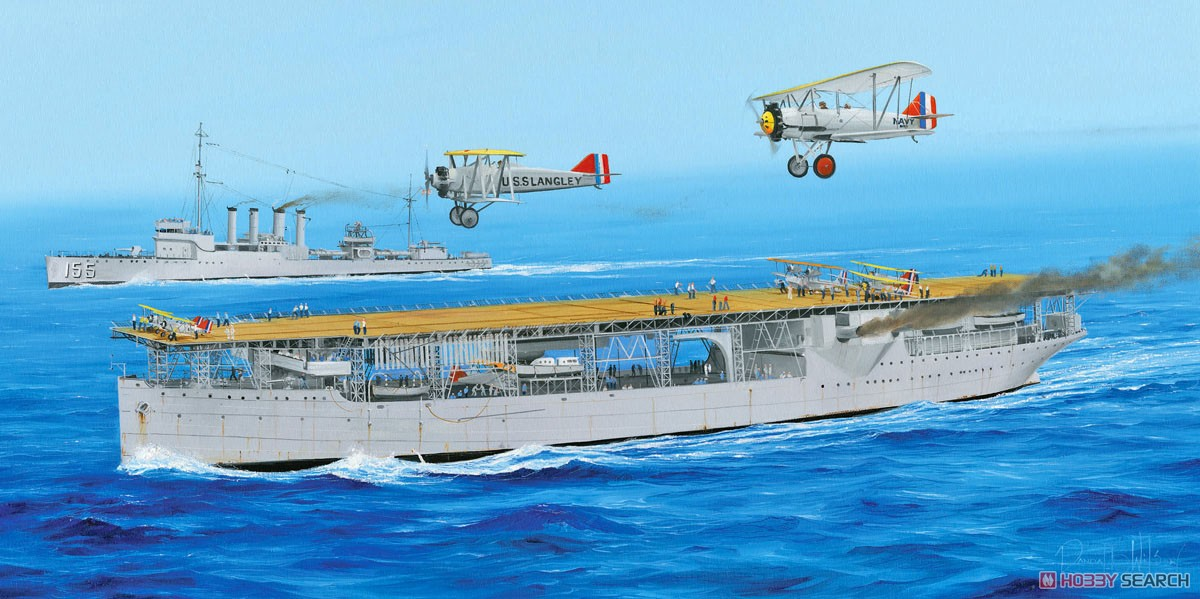 USS Langley CV-1 [Plastic model) Other picture1