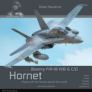 Aircraft in Detail 008: Boeing F/A-18 A/B & C/D Hornet (Book)