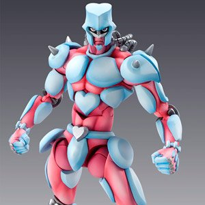 Super Figure Action JoJo`s Bizarre Adventure Part 4 [Crazy Diamond] (PVC Figure)