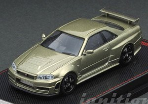 Nismo R34 GT-R Z-tune Green Metallic (ミニカー)