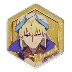 Fate/Grand Order - Absolute Demon Battlefront: Babylonia honeycomb Acrylic Magnet (Gilgamesh) (Anime Toy)