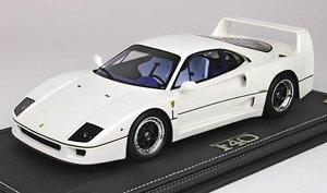 Ferrari F40 1987 White Without Case Diecast Car Hobbysearch Diecast Car Store