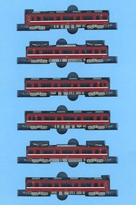 Keikyu Type 800 Remodeled Middle Car Formation (6-Car Set) (Model Train)