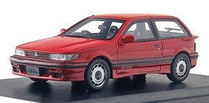 1//43 Hi-story Mitsubishi MIRAGE CYBORG DPHC 16V-T 1987 Red HS256RE