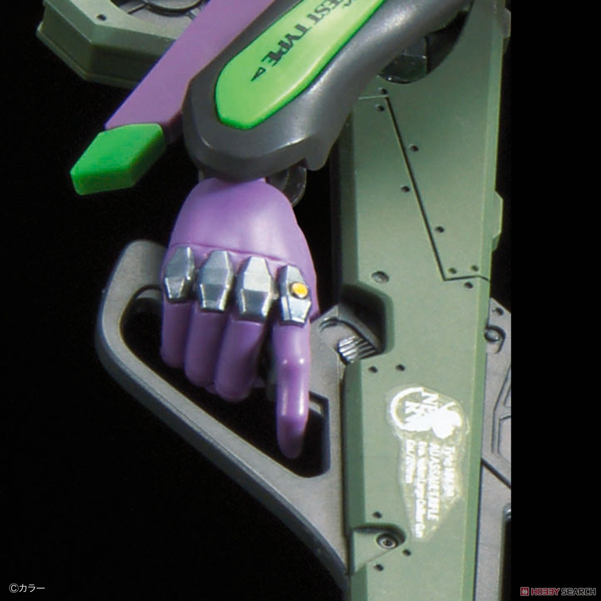 Multipurpose Humanoid Decisive Weapon, Artificial Human Evangelion Unit-01 (RG) (Plastic model) Item picture19