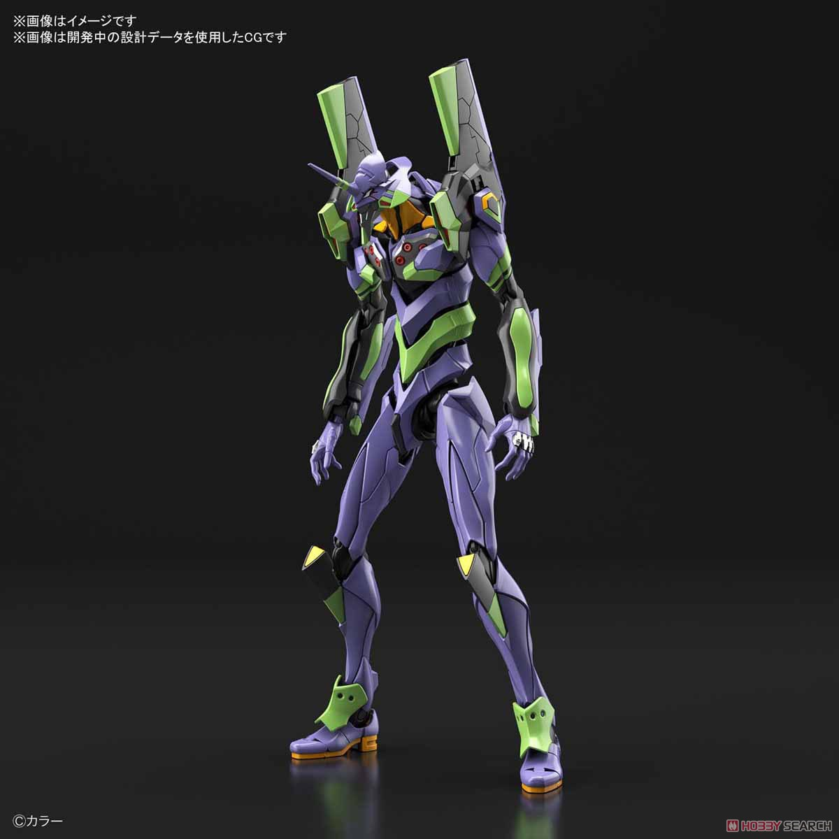 Multipurpose Humanoid Decisive Weapon, Artificial Human Evangelion Unit-01 (RG) (Plastic model) Other picture8