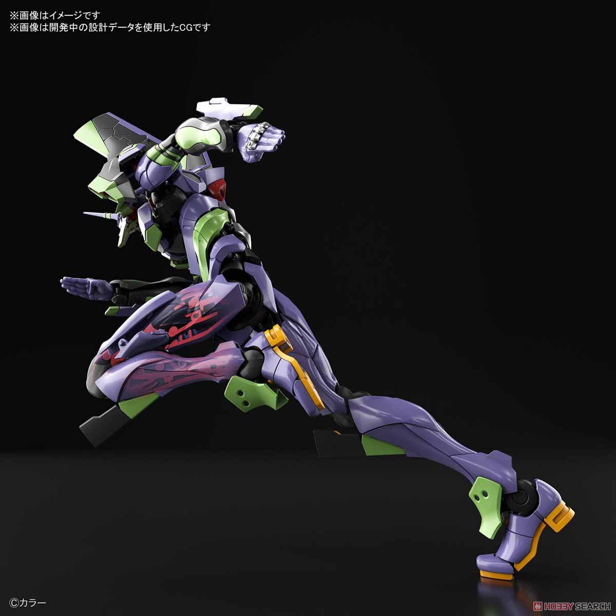 Multipurpose Humanoid Decisive Weapon, Artificial Human Evangelion Unit-01 (RG) (Plastic model) Other picture14
