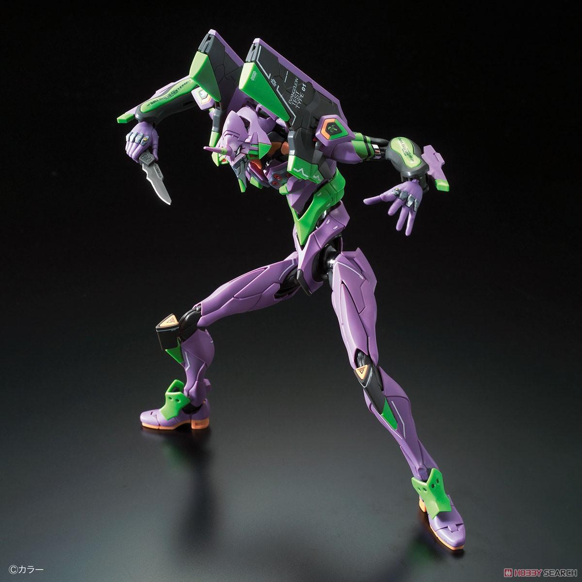 Multipurpose Humanoid Decisive Weapon, Artificial Human Evangelion Unit-01 DX Transport Platform Set (RG) (Plastic model) Item picture2