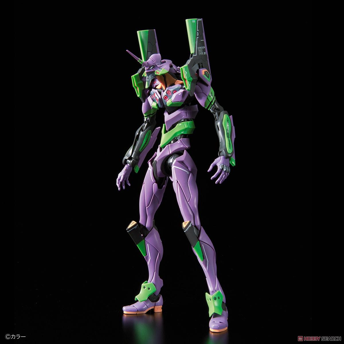 Multipurpose Humanoid Decisive Weapon, Artificial Human Evangelion Unit-01 DX Transport Platform Set (RG) (Plastic model) Item picture6