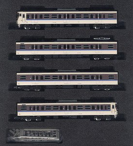 J.R. Series 115-1000 (30N Improved Car Okayama A Formation, Renewed Color) Four Car Formation Set (w/Motor) (4-Car Set) (Pre-colored Completed) (Model Train)