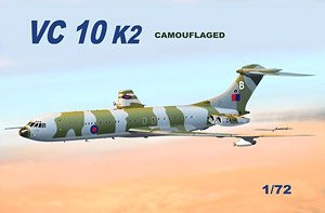 Vicaers VC10 K2 Camouflaged (Plastic model)