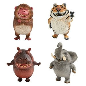 Animal Life Chubby Series Say Cheese Set Of 6 Anime Toy Hobbysearch Anime Goods Store