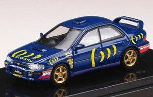 スバル インプレッサ WRX (GC8) STi Ver. II / スポーツブルー / デカール (ミニカー)