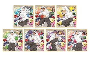 Kuroko`s Basketball Gilding Mini Colored Paper Collection (Set of 7) (Anime Toy)