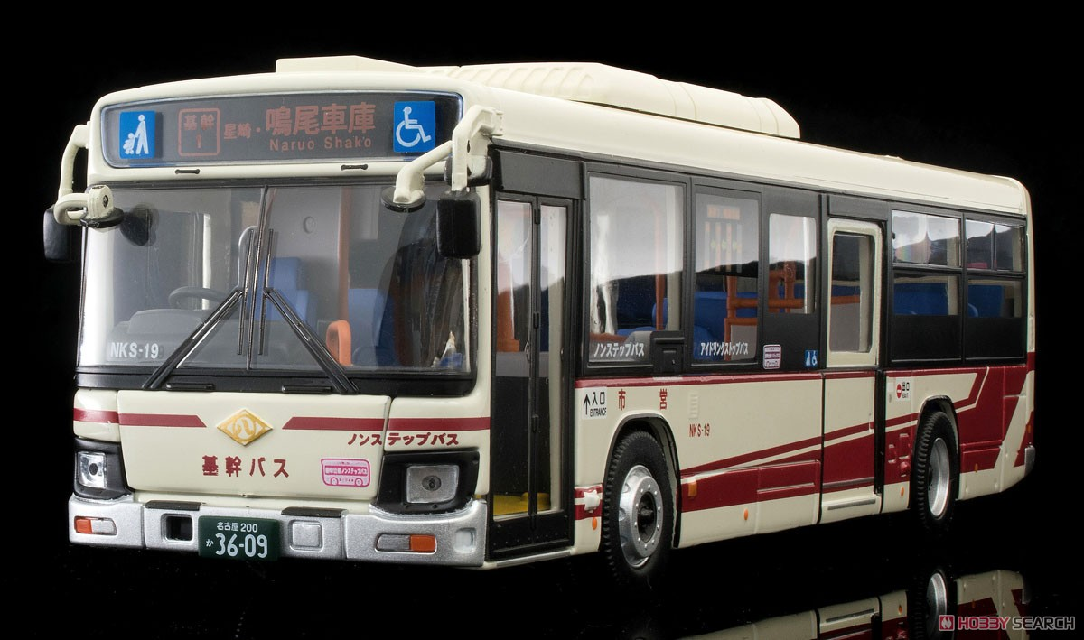 TLV-N139g Isuzu Erga Transportation Bureau City of Nagoya (Key Route Bus) (Diecast Car) Item picture1