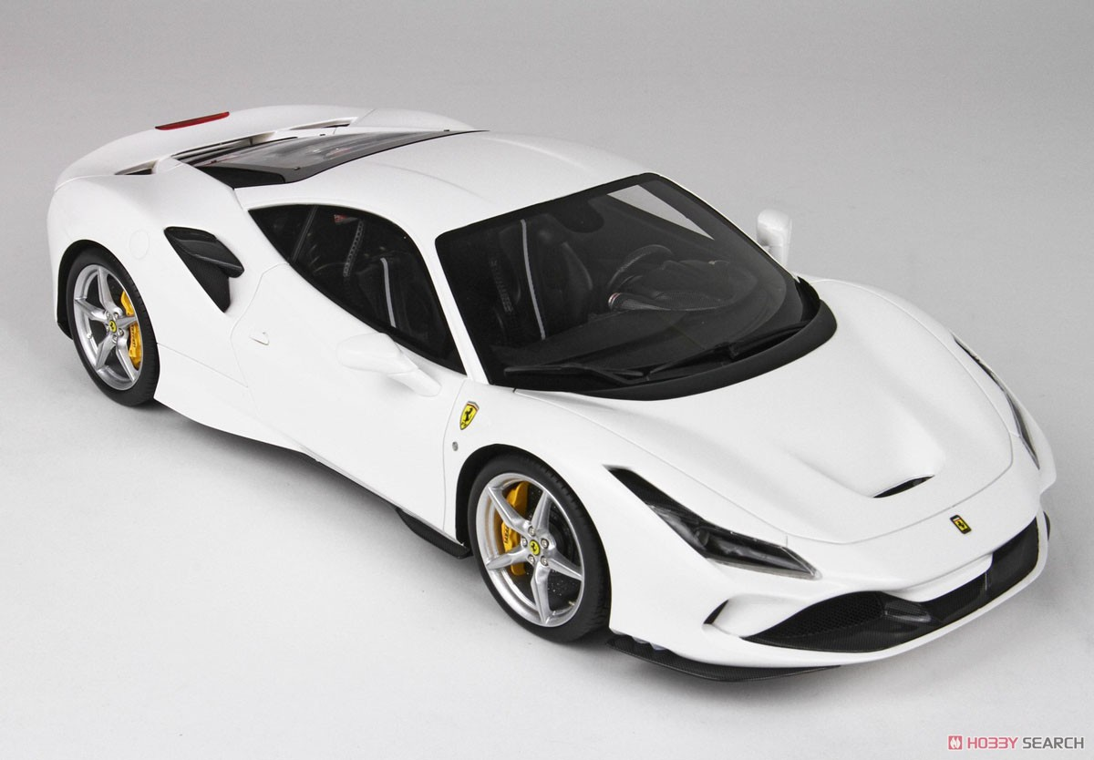 Ferrari F8 Tributo White Cervino With Case Diecast Car Item Picture4