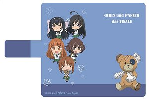 Girls und Panzer das Finale Notebook Type iPhone Case [Team Ankou] iPhoneX (Anime Toy)