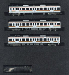 J.R. Series 211-5000 (Formation K112 / Rollsign Lighting) Three Car Formation Set (without Motor) (3-Car Set) (Pre-colored Completed) (Model Train)