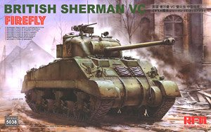 British Sherman VC Firefly (Plastic model)