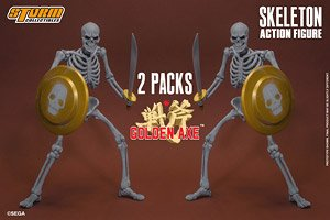 Golden Axe Action Figure Skeleton 2 Pack (PVC Figure)