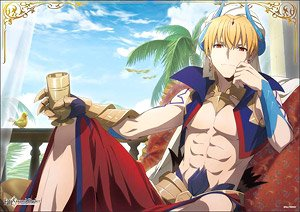 Fate/Grand Order - Absolute Demon Battlefront: Babylonia Mini Clear Poster Gilgamesh 2 (Anime Toy)