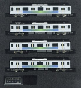 Seibu Series 30000 (Shinjuku Line, 30106 Formation) Additional Four Middle Car Set (without Motor) (Add-On 4-Car Set) (Pre-colored Completed) (Model Train)
