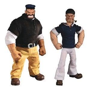 IN STOCK Mezco Toyz Popeye One:12 Collective The Sailor Man 1//12 Action Figure