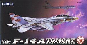 アメリカ海軍 F-14A 艦上戦闘機 (プラモデル)