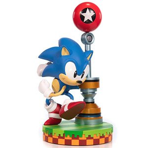 Sonic The Hedgehog Sonic 11 Inch Pvc Statue Completed Hobbysearch Anime Robot Sfx Store