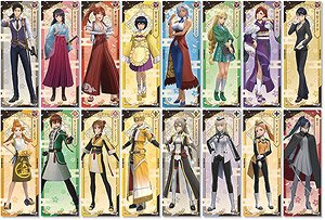Project Sakura Wars Chara-Pos Collection (Set of 8) (Anime Toy)