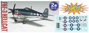 F6F-3 ヘルキャット `VF-27 空母プリンストン搭載機` (2機セット) (プラモデル)