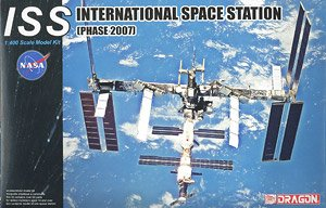 ISS International Space Station (Phase 2007) (Plastic model)