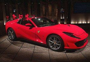 Ferrari 812 Gts 2019 Rosso Corsa 322 Diecast Car Hobbysearch Diecast Car Store