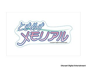 Logo Sticker Tokimeki Memorial Anime Toy Hobbysearch Anime Goods Store