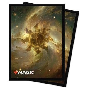 Magic: The Gathering Accessories for Theros: Beyond Death Celestial Lands Deck Protector Sleeve Plains (Card Sleeve)
