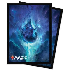 Magic: The Gathering Accessories for Theros: Beyond Death Celestial Lands Deck Protector Sleeve Island (Card Sleeve)